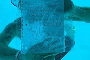 Lặn xuống nước để cầu hôn bạn gái, chàng trai Mỹ vĩnh viễn không trở lại từ biển sâu