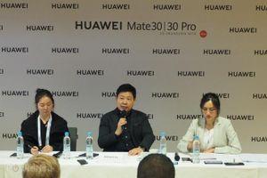 Huawei thừa nhận những khó khăn trên dòng sản phẩm Mate 30