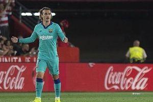 Barca gục ngã trước đội bóng mới lên hạng