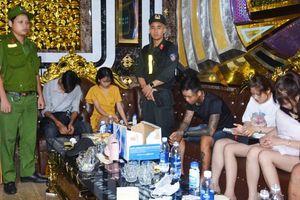 Quảng Nam: Đội kích quán karaoke, phát hiện hơn 30 đối tượng 'phê' ma túy