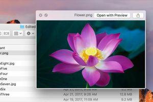 Làm thế nào để chỉnh sửa ảnh, video nhanh trên máy Mac?