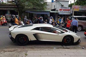 Cận cảnh Lamborghini Aventador với gói độ phiên bản kỷ niệm 50 năm