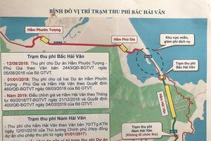 Trạm thu phí Bắc Hải Vân điều chỉnh mức thu phí dịch vụ