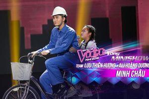 Duyên dáng 'chê' Ali Hoàng Dương béo bụng, Minh Châu lần đầu trình diễn ca khúc mới Sau lưng bố