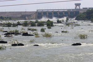 Nước sông, hồ dâng cao, Thủy điện Trị An tăng lượng xả tràn