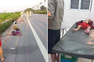 Tai nạn 1 xe máy chở 4 người cùng nhà: 2 người tử vong, 2 người nguy kịch
