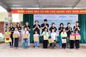 Hơn 460 học sinh Hòa Bình có 'mái nhà thứ hai' khang trang nhờ ChildFund