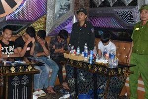 CSĐT ma túy điều tra vụ phát hiện 32 đối tượng sử dụng ma túy tại karaoke