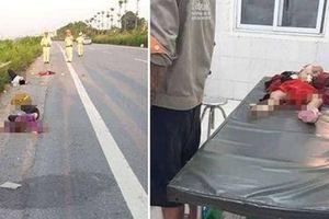 Tự gây tai nạn, 4 người trong một gia đình thương vong