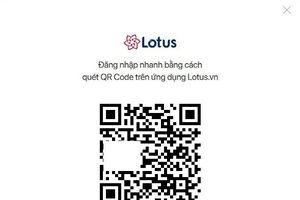 Hướng dẫn đăng nhập mạng xã hội Lotus trên bản web