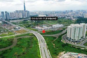 Hai khu 'đất kim cương' ở Thủ Thiêm dự kiến đấu giá từ hơn 10 triệu/m2