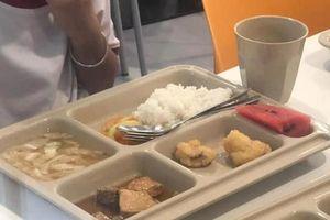 Trường Quốc tế Việt Úc (cơ sở quận 2) tiếp tục bị phản ánh chất lượng bữa ăn trưa