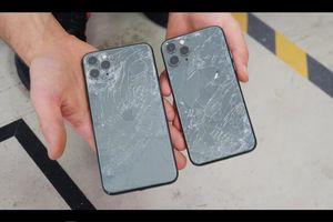 Mặt kính iPhone 11 Pro bị vỡ nát khi thả từ độ cao 1m