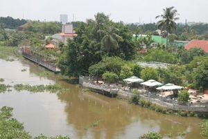 Bình Dương sẽ cưỡng chế loạt công trình lấn sông Sài Gòn