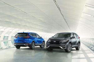 Honda CR-V 2020 trình làng với diện mạo mới, bỏ động cơ 2.4L