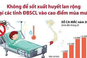 Không để sốt xuất huyết lan rộng tại ĐBSCL vào cao điểm mùa mưa