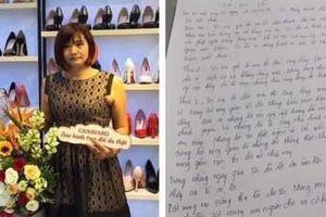 Chủ shop giày tát nữ sinh đến đòi tiền lương viết tâm thư xin lỗi