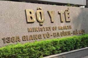 Sau VN Pharma, Thanh tra Chính phủ tiếp tục thanh tra Bộ Y tế
