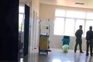 Nữ lao công phát hiện thi thể bé gái sơ sinh tử vong trong thùng rác nhà vệ sinh