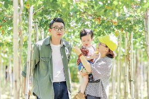 Ninh Thuận đẹp như mơ trong ảnh check-in của gia đình trẻ
