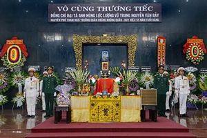 Lễ viếng Đại tá, Anh hùng Lực lượng vũ trang Nguyễn Văn Bảy