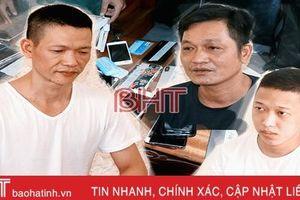 Công an Hà Tĩnh công bố phá vụ án 'khủng' 3.000 tỉ đồng cá độ bóng đá qua mạng