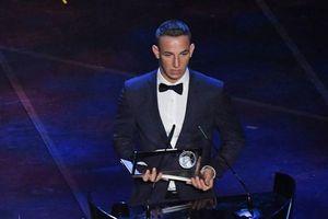 Cận cảnh pha 'ngả bàn đèn' giành giải Bàn thắng đẹp nhất của FIFA