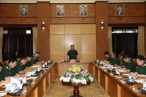 Hội nghị Tiểu ban Văn kiện, Tiểu ban Nhân sự chuẩn bị Đại hội Đảng bộ Quân đội lần thứ XI