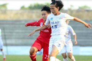 Giải bóng đá nữ VĐQG: Hà Nội chen chân vào cuộc đua vô địch