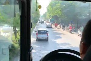 Trích xuất camera, truy tìm tài xế xe KIA Morning không nhường đường cho xe chữa cháy