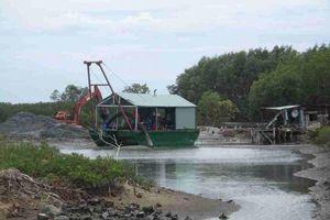 Bình Định: Công ty CP Thị Nại Eco Bay bị 'tuýt còi' tạm dừng hoạt động bơm, hút cát trên đầm Thị Nại
