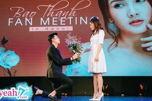 Dàn diễn viên 'Về nhà đi con' hội tụ trong fan meeting của Bảo Thanh, Quốc Trường quỳ gối cầu hôn 'Thư xính lao' một lần nữa