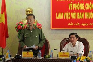 Bộ trưởng Tô Lâm: Quản lý tốt dòng tiền 'bẩn', có tham nhũng cũng không tiêu tiền được