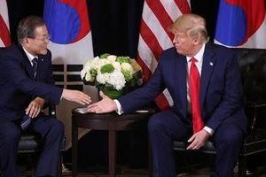 Tổng thống Mỹ-Hàn thảo luận về chia sẻ gánh nặng quốc phòng
