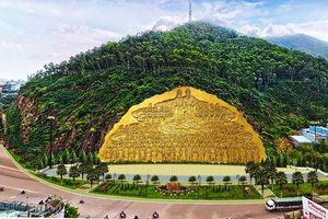 Bình Định tạm dừng dự án tạc phù điêu 86 tỷ vào vách núi