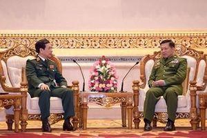 Thúc đẩy quan hệ quốc phòng Việt Nam - Myanmar đi vào chiều sâu