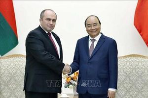 Củng cố và phát triển quan hệ hợp tác nhiều mặt Việt Nam-Belarus