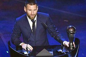 Lionel Messi xuất sắc nhất thế giới 2019