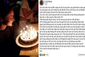 Chồng sắp cưới lén tổ chức sinh nhật cho người yêu cũ, cô gái lên mạng cầu cứu sự giúp đỡ