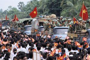 'Bộ đội nhà Phật' và tinh thần quốc tế cao cả