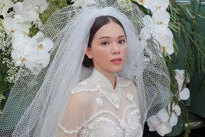 Vừa công khai yêu em chồng Hà Tăng, Linh Rin bất ngờ hóa cô dâu yêu kiều