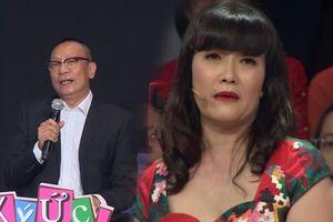 MC Lại Văn Sâm 'hù dọa' khiến Vân Dung thốt lên: 'Chết em rồi giời ơi!'