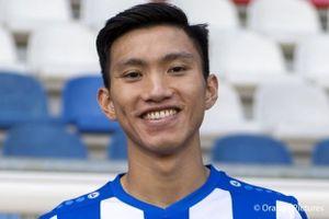 Văn Hậu chúc Hà Nội FC đánh bại CLB Triều Tiên, hướng tới mục tiêu ăn 3