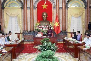 Phó Chủ tịch nước tiếp Đoàn đại biểu người có công với cách mạng tỉnh Cà Mau