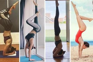 Nhiều người đẹp Việt khoe trình yoga ở mức thượng thừa với loạt tư thế khó