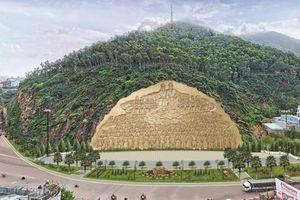 Bình Định tạm dừng tạc phù điêu cho nút giao thông cửa ngõ thành phố Quy Nhơn