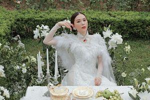 Vừa công khai yêu em chồng Hà Tăng, Linh Rin đã bất ngờ hóa cô dâu yêu kiều