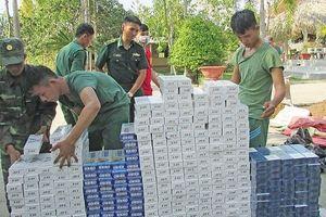 Long An: Buôn lậu thuốc lá tinh vi hơn