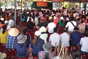Quảng Ngãi: Bí thư Tỉnh ủy đối thoại với nhân dân xã Phổ Thạnh về xử lý rác thải sinh hoạt