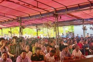 Bí thư Tỉnh ủy Quảng Ngãi đối thoại với người dân về số phận Nhà máy Rác Đức Phổ